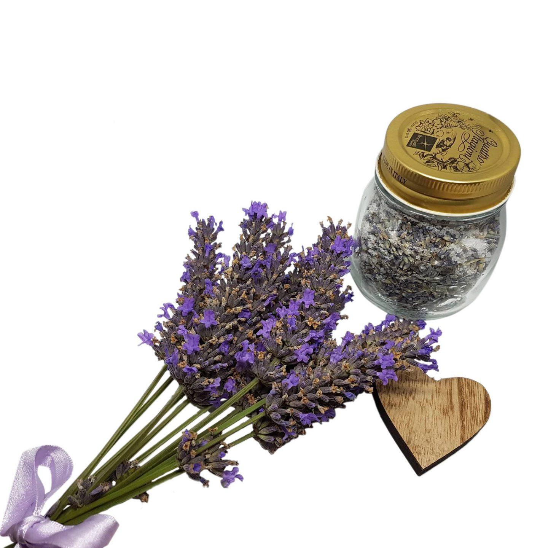 Lavendel Badesalt