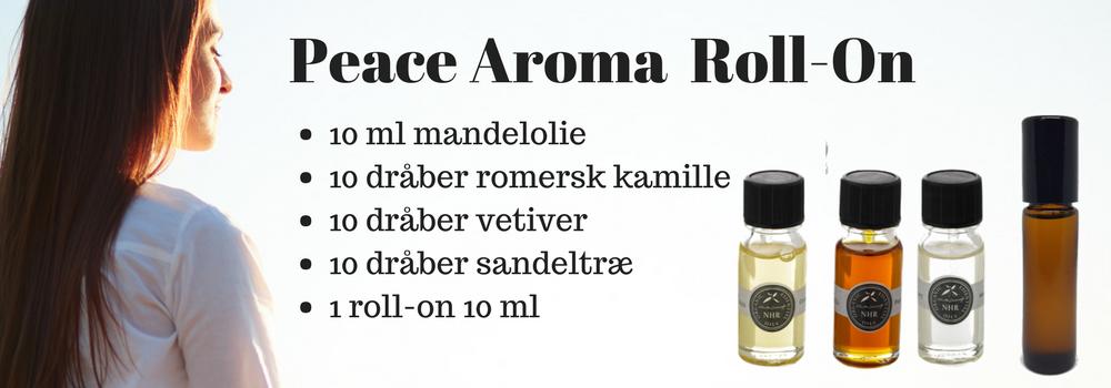 peace aroma roll-on æteriske olier